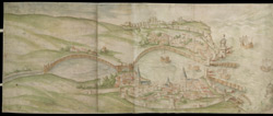 A Plott for the Making of the Haven of Dover